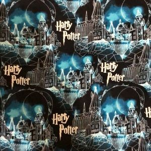 "Harry Potter fat quarter (18x22"") fabric piece"